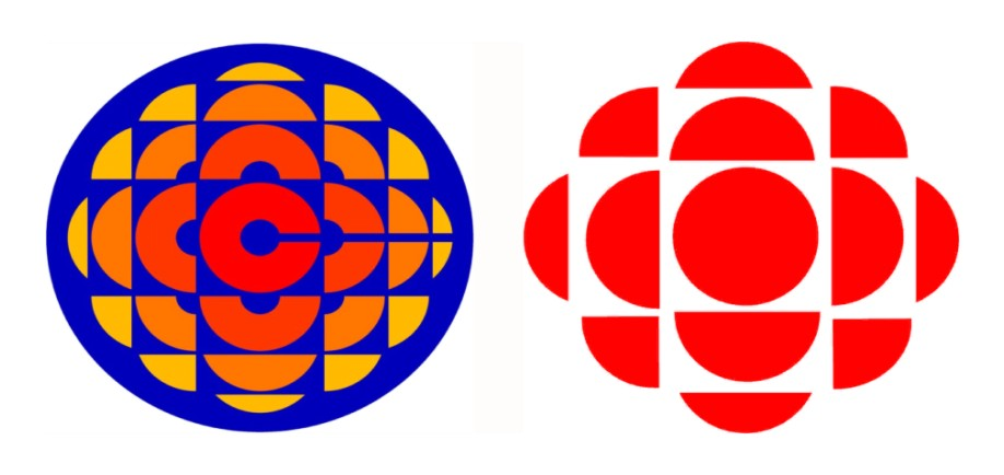 From Exploding Pizza to Vibrating Sphincter: The Changing Logos of the CBC...