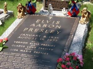Grave of Elvis